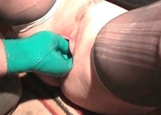Zoophilic sex featuring nasty anal fisting