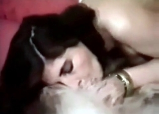 Pussy licking with a sexy doggy